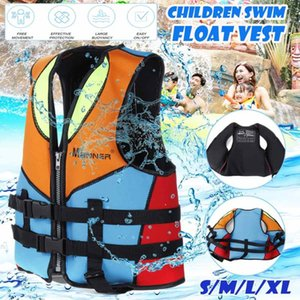 Wholesale child float vest resale online - Life Vest Buoy Child Kids Boating Drifting Safety Jacket Swimwear Swimming Buoyancy Float Aid For Years Children