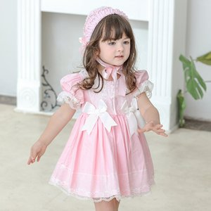 Wholesale party frock for girl dresses for sale - Group buy Little Girl Summer Lolita Dress Toddler Princess Kids Dress Turky Baby Girls Spanish Vintage Clothes for Birthday Party Frocks X2