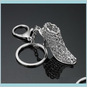 Wholesale s keychains for sale - Group buy Keychains Accessories Delivery Metal High Heel Shoe Keychain Carabiner Keyring Bag Hangs Fashion Jewelry For Women Will And Sandy Drop S