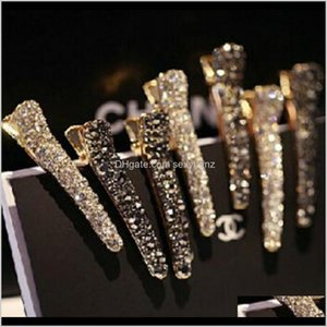 Wholesale clamps fish for sale - Group buy Crystal Rhinestone Pearl Pin Metal Alloy Bang Clips Side Clip Barrettes Prong Fish Mouth Clamp Colors Beaty Women Girls Hair Ai19I Js6Zt