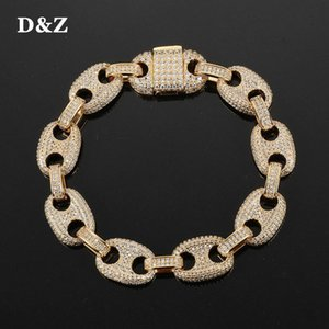 haricots cuisinés achat en gros de-news_sitemap_homeDZ Solid Back mm Coffee Beans Cuban Link Bracelet HIP HOP HOP Mode Bijoux Fashion Ifed Out Zircon Or Couleur Rock Link Chaîne