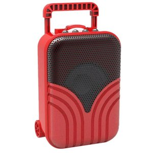ofertas de portátiles al por mayor-Top Deals Bluetooth Altavoces Creativo Regalo Mini Carretilla Caja Radio Tarjeta de Radio Portátil Portátil