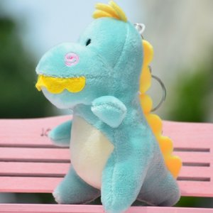 Wholesale small dinosaurs resale online - Dinosaur Plush Small Mini Doll Cute Girl Baby Bag Schoolbag Pendant