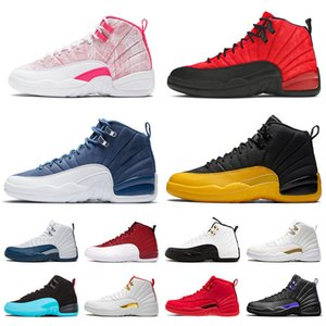 Wholesale cherry cream for sale - Group buy 2021 Ice Cream Jumpman DARK CONCOR Mens Womens Shoes Flu Game s XII Stone Blue University Gold Cherry FIBA Trainers Men Women Sports Sneakers