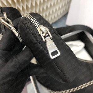 Women small purses top quality nylon shoulder bag 3 pieces crossbody reedition multi pochette chains hobo fashion bags