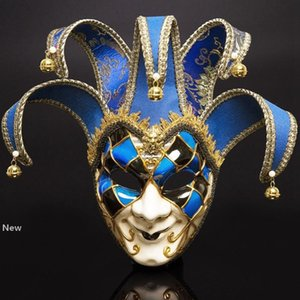 Wholesale party supplies adults resale online - Masquerade Masks Venice Masks Full Face Halloween Christmas Party Mask for Adults Festival Party Supplies Cosplay Prop HHA1394