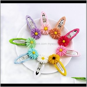 Wholesale kids sunflower hair accessories for sale - Group buy Accessories Baby Maternity Drop Delivery Baby Girl Sunflower Toddler Infant Kids Hair Grosgrain Ribbon Bow Snap Fashion Accesories Cl
