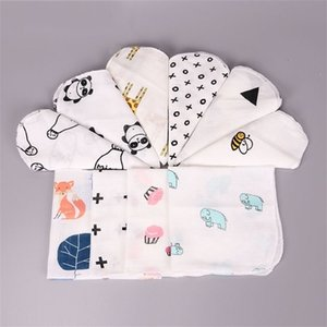 Wholesale nursery quilt resale online - Baby Muslin Swaddle Blankets Cotton Summer Bath Towels toddler Wraps Nursery Bedding Infant Swadding Robes Quilt Z1616 Y2