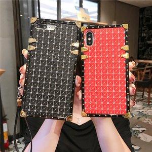 Wholesale shows case resale online - Rhinestone luxury designer show box phone cases for iPhone pro promax X XS Max Plus samsung S20 NOTE20