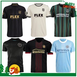novas mls jersey venda por atacado-2021 MLS Los Angeles La LAFC Galáxia Miami Futebol Jerseys Portland Timbers Atlanta United New York City FC Higuain Home Away Futebol Camisas