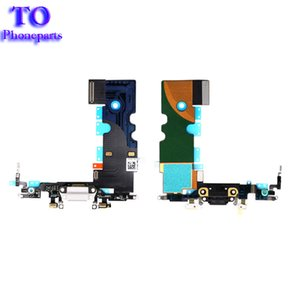 Wholesale For iPhone Plus New Charging Port USB Charger Dock Connector with Microphone Antenna Flex Cable