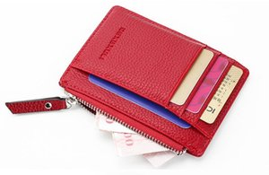 Korean version of the new creative personality mixed colors matte Magic Magic Men's wallet Mini wallet card package