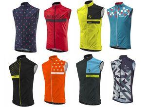 2021 Morvelo Pro team Winter Fleece Cycling Windproof Vest Windjacket Thermal mtb Biking Coat mens warm up jacket