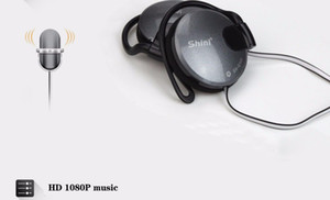 Wholesale 3 mm Stereo Headphone Subwoofer Earphone Ear Hook Headset For Mobile Phone Headset Factory Price
