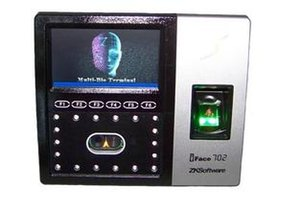 Touch screen Face Access Control System And Fingerprint Time Attendance And Password Machine Biometric Facial Recognition System iFace702 on Sale