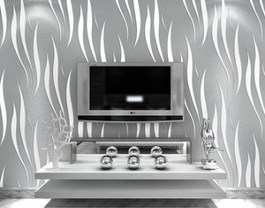 3D Wallpaper Home decor TV background Non woven wall paper roll on Sale