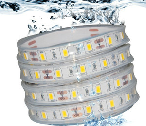 5M RGB 5050 LED Strip IP68 Waterproof 12V 60LED M Use Underwater for Swimming Pool Fish Tank Bathroom Outdoor With 44keys Remote Contorller