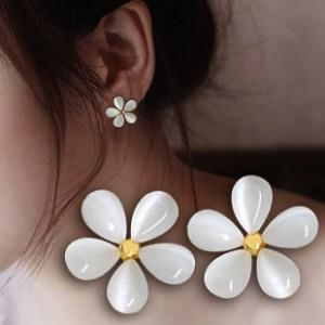 Wholesale korean jewelry free shipping for sale - Group buy Fresh Flower Earrings Cute Korean Fashion Jewelry Earrings White Earrings Fashion Korean Earrings EH042