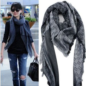 Wholesale Factory Sell High classic Wool cashmere scarf women s silk Wrap shawl Letter printing Scarves x140cm