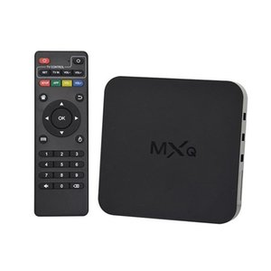 Wholesale Hot Sale MXQ Quad Core Android TV Box Satellite Receivers TV Tuner P HDMI WiFi GB k