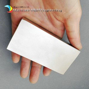 Wholesale 1 Pack Grade N52 NdFeB Block x50x20mm about quot Rectangle Bar Strong NdFeB Bar Neodymium Permanent Magnets Industry Magnets