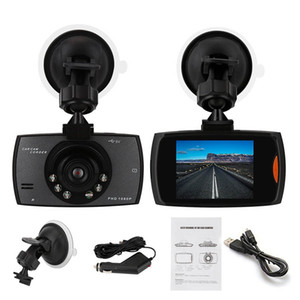 Wholesale G30 Car DVR Camera 1080P (REAL 720P) With Night Vision Video Recorder 2.4 inch TFT LCD Black Box 90 Degree Wide Angle