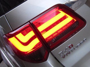1Pair Brand New Led Rear Lights Fortuner Tail Lamps Fortuner Tail Lights For Toyota Fortuner 2012' on Sale