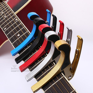 Tune Quick Change Trigger Folk Acoustic Capos Electric Guitar Banjo Trigger Capo Key Clamp