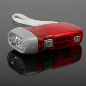 Wholesale Home outdoor travel light long range self defense hand pressure flashlight hand hand power flashlight mini home