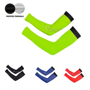 Wholesale cycling arm warmers colors winter thermal fleece arm sleeve sport wearing cycling mtb bike bicycle factory direct sales