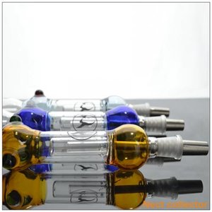 Wholesale Mini Smoking Accessories mm Joint Glass Honey Straw GR2 Titanium Tip Concentrate Honey Dab Straw Sugar coated Berry Shape Unique Design