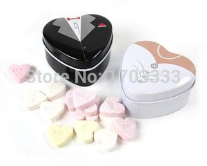 Bride groom Mint tin wedding favor box 500PCS LOT free shipping dressed to the nines wedding candy box 0915#15