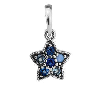 Pandulaso Christmas Bright Star Dangle Charm Beads For Woman DIY Original Sterling Silver Jewelry Fit Pandora Charms Bracelets