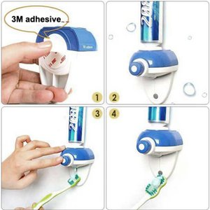 Wholesale New Arrival Bathroom accessories Hands Free One Touch Automatic Toothpaste Dispenser WH3