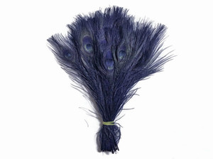Wholesale inch cm NAVE BLUE PEACOCK Feather for CRAFTS display jewelry party supplies