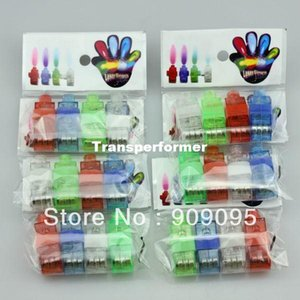 600pcs lot LED Finger Laser Beam Lights Finger Ring Light Halloween and Christams Party Supplies Novelty Kids Toys With Opp Bag on Sale