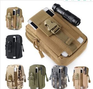 Wholesale Unisex Outdoor Sport Casual Tactical Belt Loops Waist Bag Molle Military Waist Fanny Pack Smartphone Mobile Phone Case