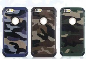 Wholesale Cell Phone Case For New Design Cool Camouflage case iPhone S SPlus S For Galaxy Note5 S6 S6Edge DHL shipping