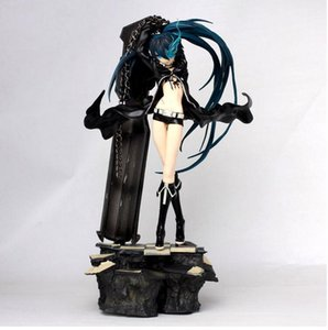 30cm Anime Black Rock Shooter Bikini PVC Action Figure Model Collection Toy Good Gift Free Shipping