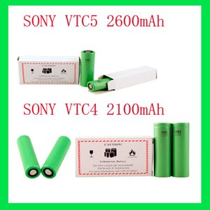 Wholesale US18650 VTC5 VTC4 Lithium Battery Battery mAh V A fit All Electronic Cigarettes Mods EPACKET UPS Hour Freeship