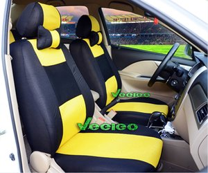 7 Colors Universal Seat Cover For SKODA Octavia Superb Rapid Fabia With Breathable Material +Airbag Compat+Logo+wholesale+Free Shipping on Sale