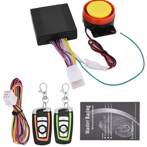 Wholesale kit motorbikes resale online - Motorcycle Motorbike Scooter Anti theft Security Alarm System Remote Control Engine Start V for Honda Suzuki Kawasaki Yamaha car alarm kit