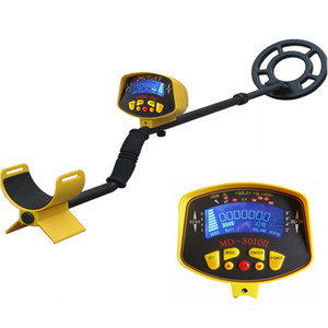 2017 most highly sensitivie metal detector MD-3010II Deep Range Underground Gold Metal Detector MD3010II with free shipping on Sale
