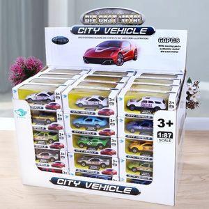 Children Model Toy Car Simulation Mini Cartoon Alloy Car Models Toys Gifts 1pcs (Size: Random Color)