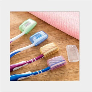 Wholesale 5Pcs Set Portable Travel Toothbrush Head Cover Case Protective Caps Health Germproof Brush Case Protect Hike Brush Cleaner