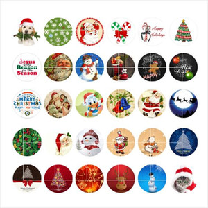 newest Christmas snap button jewelry charm popper for bracelet 30pcs   lot GL015 noosa,jewelry making supplier