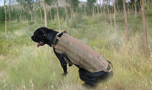Army Tactical Outdoor sport Clothes Load Bearing Harness SWAT Dog Molle Vests for Dog Training Harness