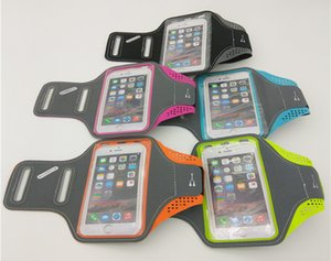 Wholesale Universal Sports Running Arm Band Case For iPhone S X Smart Touch Phone Bag Case Sport Gym Mobile Phone Cover