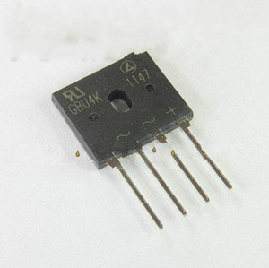 GBU4K = GBU406 new bridge rectifier bridge current 4A600V cooker with flat pieces on Sale