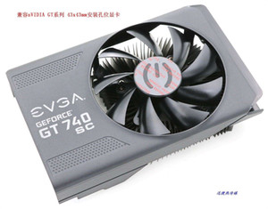 New Original for EVGA GT740 SC video card cooling fan with heatsinks pitch 43*43MM